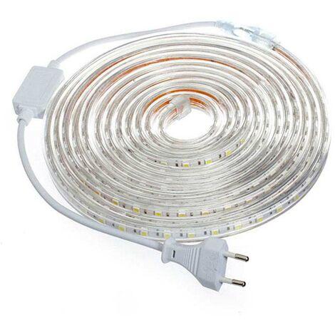 KIT Tira LED 220V SMD5050 EPISTAR, 60LED/m, RGB, 5 metros, RGB - RGB
