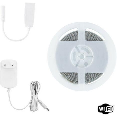 Kit Tira LED RGBWW 12V 72LED/m 5m Smart Wifi IP65 RGBWW - RGBWW