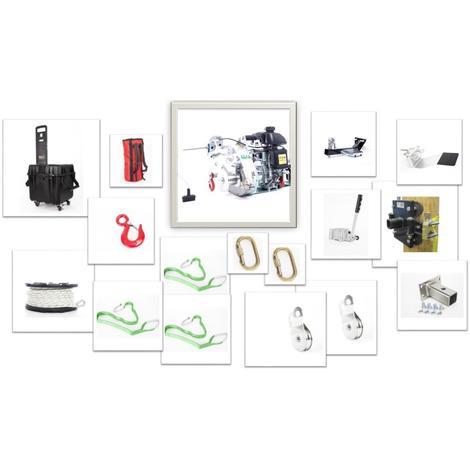 Kit tirage et levage TOP avec treuil portable PCH1000