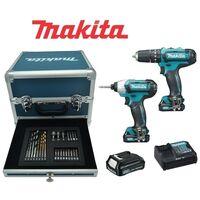 Kit Trapano + Avvitatore + Accessori 10,8V Litio Limited Edition Makita - CLX202SAX2