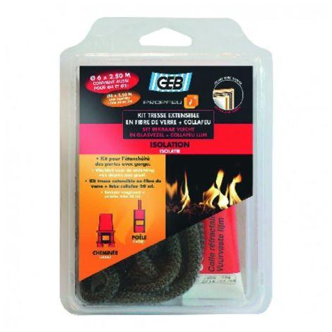 Kit tresse extensible en fibre de verre collafeu - GEB : 821591