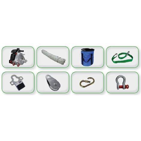 Kit treuil portable tirage ECO