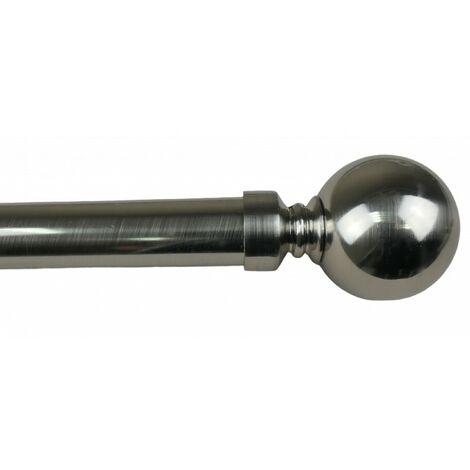 Kit Tringle Extensible ø 25/28 Sphère 110 à 210 cm