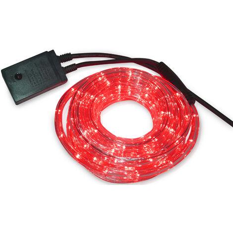 Kit tubo Led luminoso flexible multifunción 10 m. rojo (F-Bright 772)