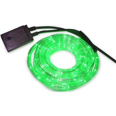 Kit tubo Led luminoso flexible multifunción 10 m. verde (F-Bright 775)