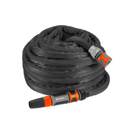 Kit tuyau d'arrosage textile LianoTM 20 m Gardena 18434-20