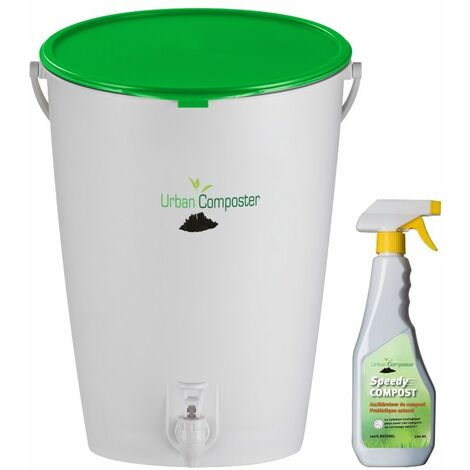 KIT urban composter + couvercle vert