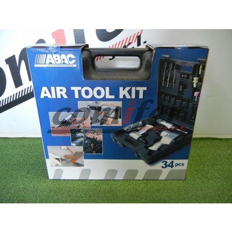 Kit utensili pneumatici Abac 34pz