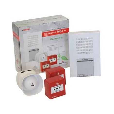 Kit valisette alarme incendie type 4