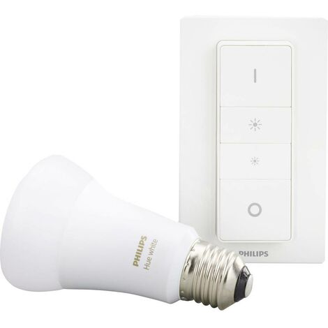 Kit variateur sans fil 9.5 W 1x E27 Philips Lighting 929001821603 blanc 1 pc(s)