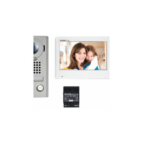 """main image of """"Kit JOS1V vidéo platine saillie avec moniteur écran 7 - touche sensitive AIPHONE - AIPHONE"""""""