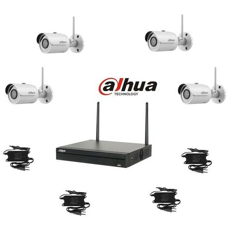 Kit video wifi dahua 4 tubes 4mp