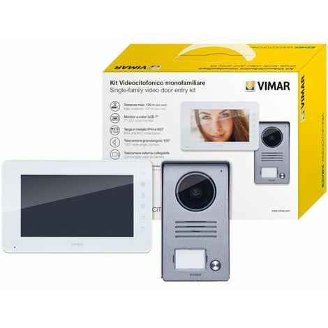 """main image of """"Kit videocitofono K40930 Monofamiliare 7"""" a colori 2 fili Alim.DIN"""""""