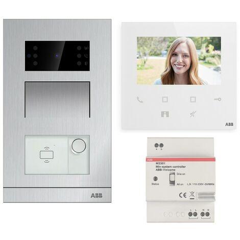 Kit Vidéophone ABB Monofamiliale à encaissement avec Wifi WLK411B
