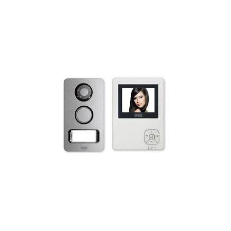 Kit Videophone Urmet Mains-libre monofamiliale 2 FILS 956/83