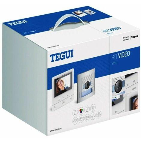 Kit Videoportero 2 hilos Tegui Sfera New con monitor CLASSE100V16B Basico 379111
