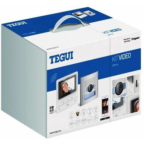 Kit Videoportero 2 hilos Tegui Sfera New con monitor CLASSE100X16E Conectado 379116