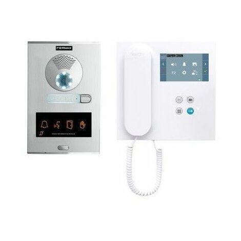 KIT Videoportero City OTO Duox Plux Wifi FERMAX 49081 1 Linea