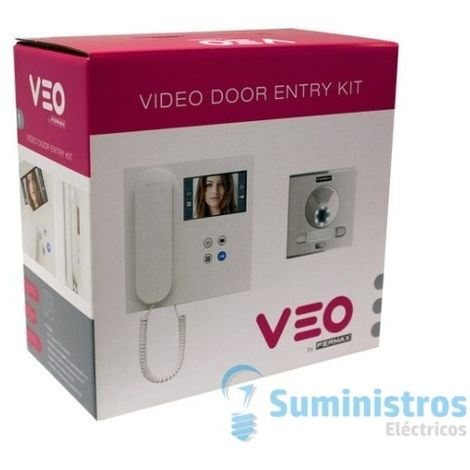 KIT Videoportero FERMAX 9412 VEO VDS 2 LINEAS