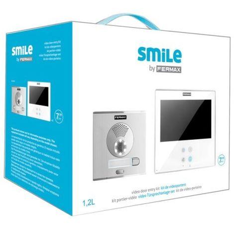 KIT VIDEOPORTERO SMILE 7'' 2L COLOR FERMAX 5072