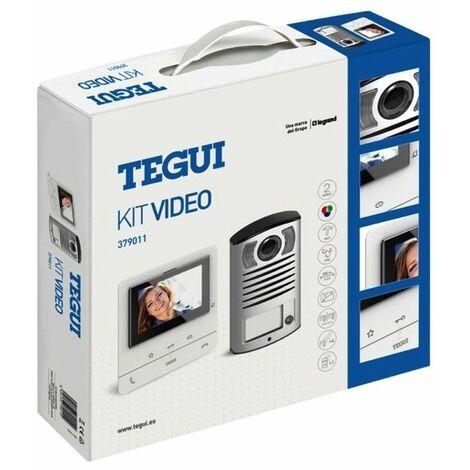 Kit Videoportero superficie 2 hilos Tegui Linea 2000 con monitor CLASSE100V16B Basico 379011
