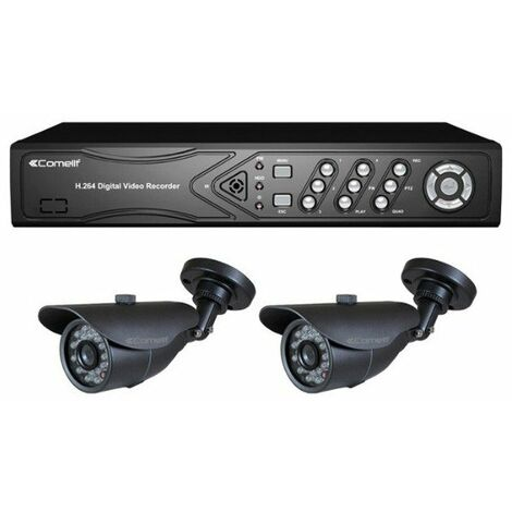 Kit vidéosurveillance HD analogique 2 caméras