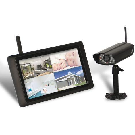 Kit vidéosurveillance sans fil 200M, DWH, DWH