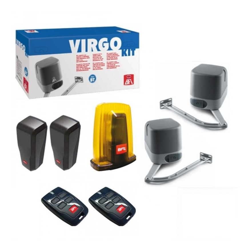 kit virgo motorisation portail 2 battants bft 24 v bft. Black Bedroom Furniture Sets. Home Design Ideas