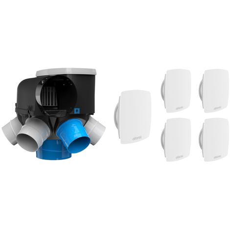 Kit VMC auto-réglable AUTOCOSY HI bouche LINE - Atlantic