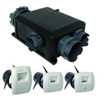 Kit VMC Bahia Compact micro-watt Hygro B - Simple flux hygroréglable