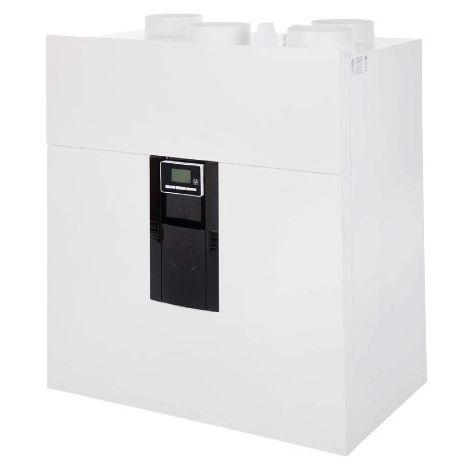 Kit vmc double flux ideo 325 très haut rendement ecowatt radio avec kit accessoires unelvent p08