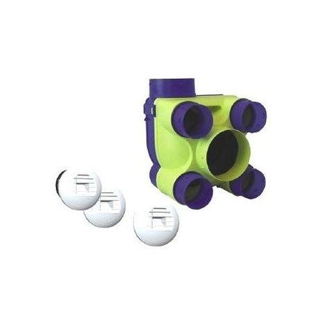 Kit VMC Hydra Ecowatt - Hygro B Unelvent 602211 - Bleu - Bleu