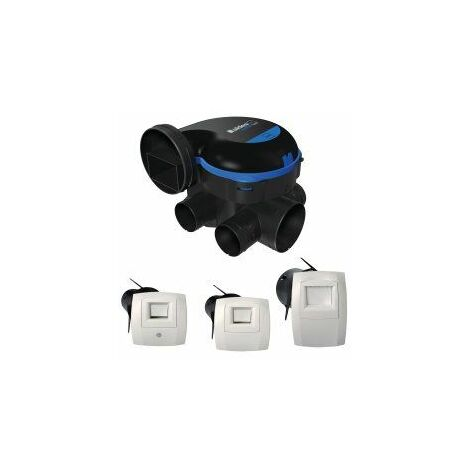 Kit VMC simple flux EasyHOME hygroréglable Premium MW - Aldes