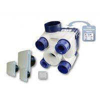 Kit VMC - Sondes thermo-hygrométriques - Habitat 4 sanitaires - Unelvent
