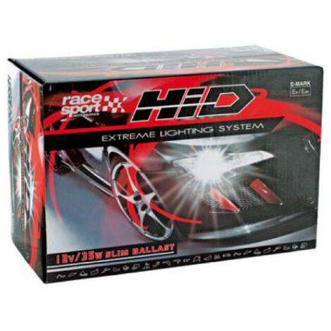 Kit Xenon HID - 2 ampoules H1 - 35W - 8000K - Ballast Slim - 12V