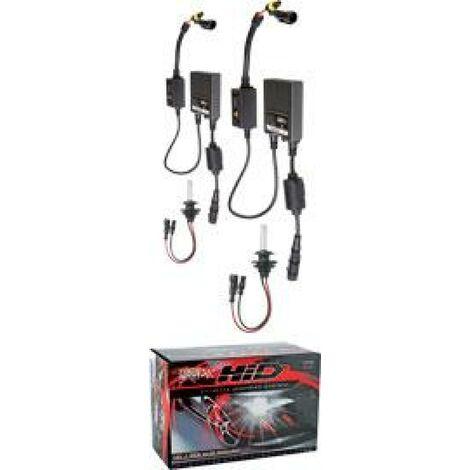 Kit Xenon HID - 2 ampoules HB3 9005 - 35W - 8000K - Ballast Slim - 12V