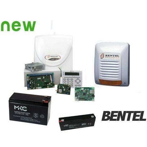 Kitabs42-ip - kit antifurto bentel - abs-42 - abs-gsm + abs-ip + batterie