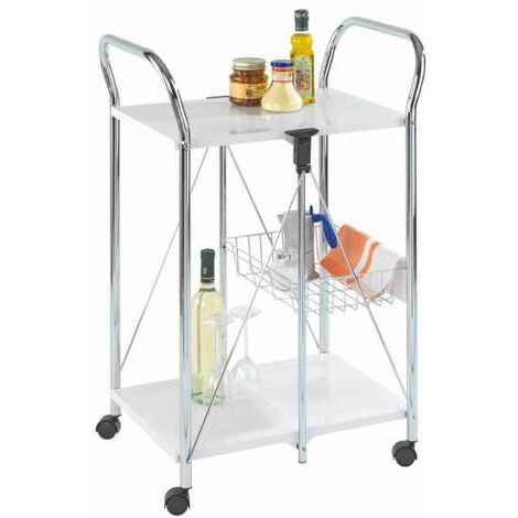 Kitchen and utility trolley Sunny white WENKO