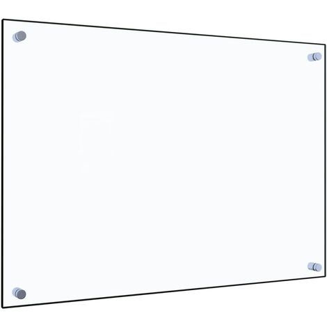 Kitchen Backsplash Transparent 70x50 cm Tempered Glass