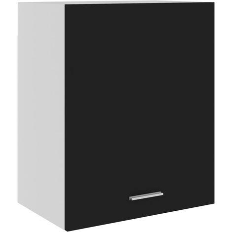 Kitchen Cabinet Black 50x31x60 cm Chipboard
