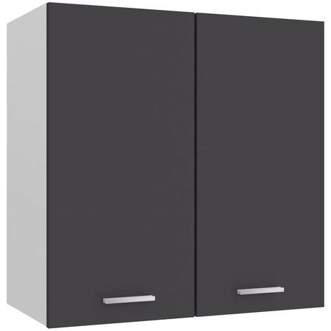 Kitchen Cabinet Grey 60x31x60 cm Chipboard