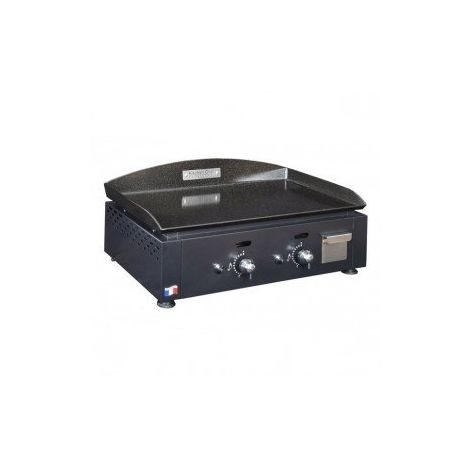 KITCHEN CHEF PLANCHA GAZ 2 BRULEURS KCP60G