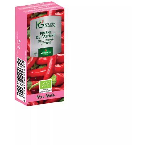 Kitchen Gardening - Piment de Cayenne BIO