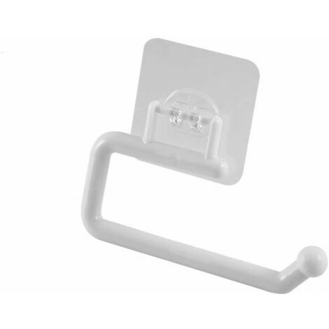 Kitchen Roller Porte Paper Towel Hanger Bar Cabinet Cloth Suspended Support Bathroom Organizer Shelf Toilet Paper Holder (Small)