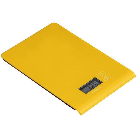 Kitchen Scale,Yellow ABS,5kg Electronic