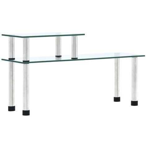 Kitchen Shelf Transparent 45x16x26 cm Tempered Glass