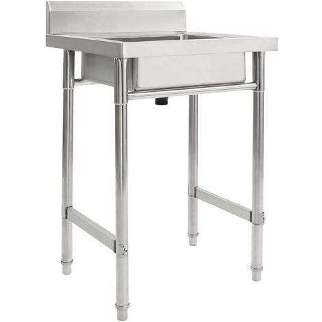 Kitchen Sink Single Basin Stainless Steel