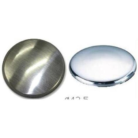 Kitchen Sink Tap Hole Blanking Plug Cover Plate Disk Brushed Finish