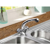 Kitchen Sink Tap Mixer SP Deanes Mono Block Sink Mixer WRAS Approved