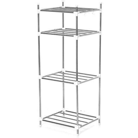 """main image of """"Kitchen Storage Holder Rack Stainless Steel Shelf Kitchenware Organizer"""""""